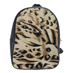 Tiger Animal Fabric Patterns School Bags(large)