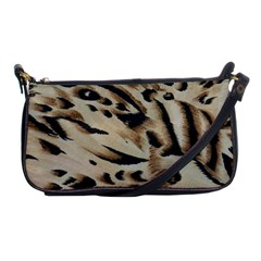 Tiger Animal Fabric Patterns Shoulder Clutch Bags