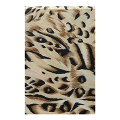 Tiger Animal Fabric Patterns Shower Curtain 48  x 72  (Small)