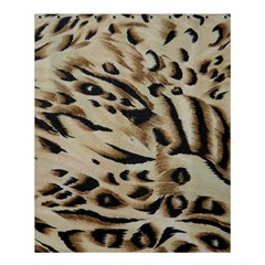 Tiger Animal Fabric Patterns Shower Curtain 60  x 72  (Medium)