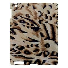 Tiger Animal Fabric Patterns Apple iPad 3/4 Hardshell Case