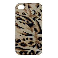 Tiger Animal Fabric Patterns Apple Iphone 4/4s Premium Hardshell Case