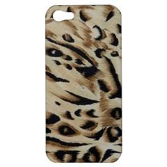 Tiger Animal Fabric Patterns Apple iPhone 5 Hardshell Case