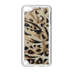 Tiger Animal Fabric Patterns Apple iPod Touch 5 Case (White)