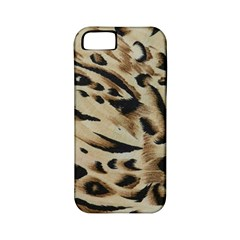 Tiger Animal Fabric Patterns Apple Iphone 5 Classic Hardshell Case (pc+silicone)