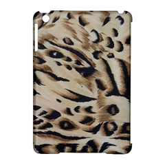 Tiger Animal Fabric Patterns Apple Ipad Mini Hardshell Case (compatible With Smart Cover)