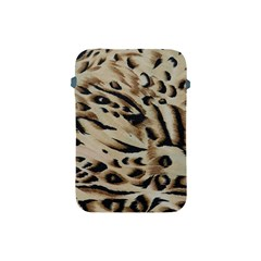 Tiger Animal Fabric Patterns Apple Ipad Mini Protective Soft Cases