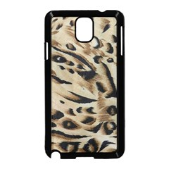 Tiger Animal Fabric Patterns Samsung Galaxy Note 3 Neo Hardshell Case (Black)