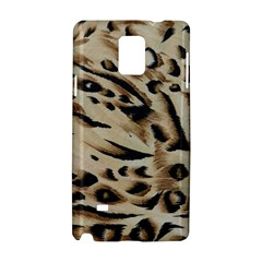Tiger Animal Fabric Patterns Samsung Galaxy Note 4 Hardshell Case