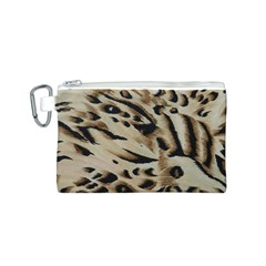 Tiger Animal Fabric Patterns Canvas Cosmetic Bag (s)