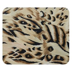 Tiger Animal Fabric Patterns Double Sided Flano Blanket (Small)