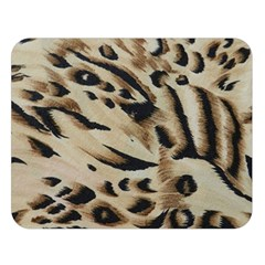 Tiger Animal Fabric Patterns Double Sided Flano Blanket (Large)