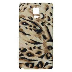 Tiger Animal Fabric Patterns Galaxy Note 4 Back Case