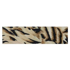 Tiger Animal Fabric Patterns Satin Scarf (oblong)