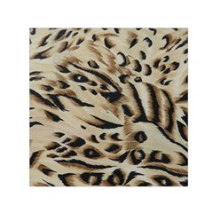 Tiger Animal Fabric Patterns Small Satin Scarf (Square)