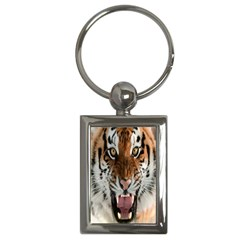 Tiger  Key Chains (rectangle)