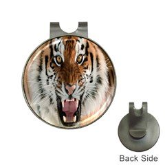Tiger  Hat Clips with Golf Markers