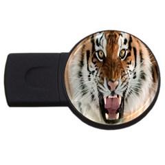 Tiger  Usb Flash Drive Round (4 Gb)