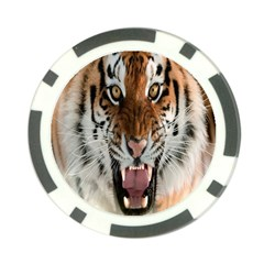 Tiger  Poker Chip Card Guard