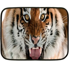 Tiger  Double Sided Fleece Blanket (Mini)