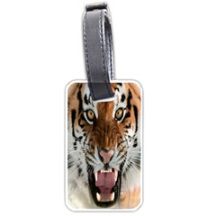 Tiger  Luggage Tags (Two Sides)