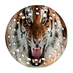 Tiger  Ornament (round Filigree)