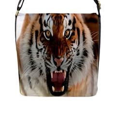 Tiger  Flap Messenger Bag (L)