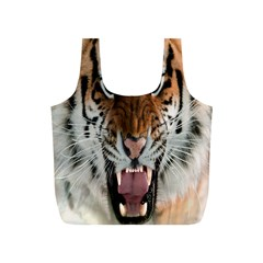 Tiger  Full Print Recycle Bags (s)