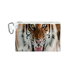 Tiger  Canvas Cosmetic Bag (S)