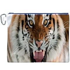Tiger  Canvas Cosmetic Bag (xxxl)