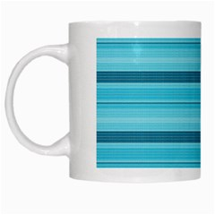 The Background Strips White Mugs