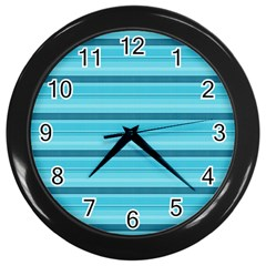 The Background Strips Wall Clocks (Black)