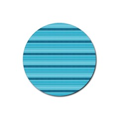 The Background Strips Rubber Round Coaster (4 pack)