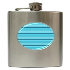 The Background Strips Hip Flask (6 Oz)