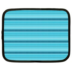 The Background Strips Netbook Case (Large)