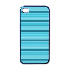 The Background Strips Apple iPhone 4 Case (Black)