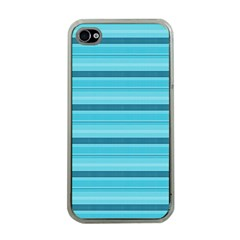 The Background Strips Apple iPhone 4 Case (Clear)