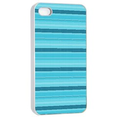 The Background Strips Apple iPhone 4/4s Seamless Case (White)