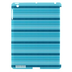 The Background Strips Apple iPad 3/4 Hardshell Case (Compatible with Smart Cover)