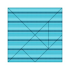 The Background Strips Acrylic Tangram Puzzle (6  x 6 )