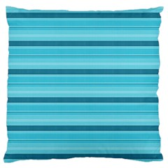 The Background Strips Large Cushion Case (One Side)
