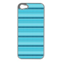 The Background Strips Apple Iphone 5 Case (silver)