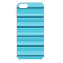 The Background Strips Apple Iphone 5 Seamless Case (white)