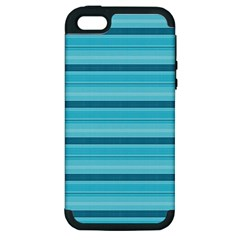 The Background Strips Apple Iphone 5 Hardshell Case (pc+silicone)