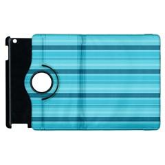 The Background Strips Apple Ipad 2 Flip 360 Case