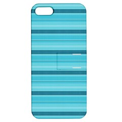 The Background Strips Apple Iphone 5 Hardshell Case With Stand