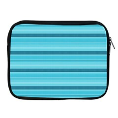 The Background Strips Apple Ipad 2/3/4 Zipper Cases
