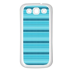 The Background Strips Samsung Galaxy S3 Back Case (white)