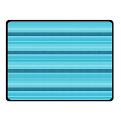 The Background Strips Double Sided Fleece Blanket (Small)