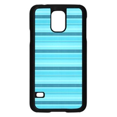 The Background Strips Samsung Galaxy S5 Case (Black)